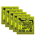 Ernie Ball Regular Slinky Electric Guitar String Set ( 5 Set Deal )