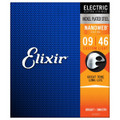 Elixir Nanoweb Custom Light .009 - .046 Electric Guitar Strings