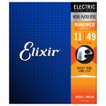 Elixir Nanoweb Medium .011 - .049 Electric Guitar Strings