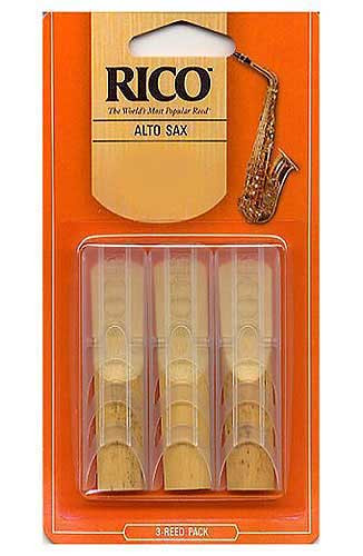 Rico Clarinet Reeds 2 1//2 Gauge 3 pack