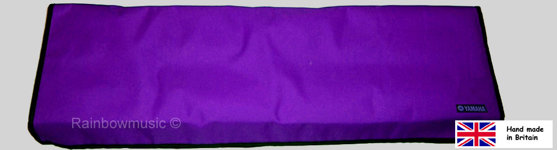 Deluxe Keyboard Cover For Yamaha PSR S970 S770 S950 S750 Purple