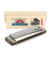 Hohner Big River 10 Hole Diatonic Harmonica Key  A
