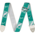 "Fender 2"" Custom Sea Foam Green Monochrome Guitar Strap"
