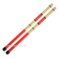Cozy Drum Pro Rods Custom Bamboo Red