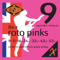 Rotosound R9-7 Roto Yellow Nickel Electric Guitar Strings 9-52 7-String Regular