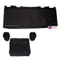 Deluxe Dust Cover Set For Yamaha Genos Black Plain