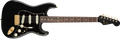 Fender Made In Japan FSR Midnight Stratocaster RW Black