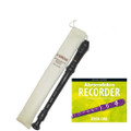 Yamaha  YRS24B Descant School Recorder Brown With Abracadabra Book 1