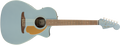 Fender Newporter Player Electro Acoustic Guitar - Ice Blue Satin