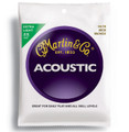 Martin M170 extra light bronze wound acoustic guitar string set