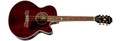 Epiphone EJ-200SCE Coupe, Wine Red