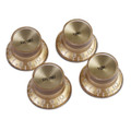 Gibson Gold Top Hat Knobs Set Of 4