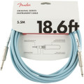 Fender Original Series Guitar Lead 18.6ft Daphne Blue