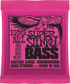 Ernie Ball Super Slinky Bass Guitar Strings 45 -100