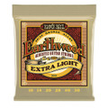 Ernie Ball Earthwood  Bronze Acoustic Guitar Strings Extra-Light Set