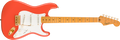 Fender  FSR Classic Vibe '50s Stratocaster®, Maple Fingerboard, Fiesta Red with Gold Hardware