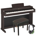 Yamaha Arius YDP 164 Digital Piano, Black  Finish