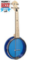Gold Tone Little Gem (Sapphire): See-Through Banjo-Ukulele