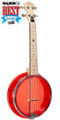 Gold Tone Little Gem (Ruby): See-Through Banjo-Ukulele