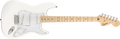 Fender Squier FSR Affinity Series™ Stratocaster®, Maple Fingerboard, Olympic White