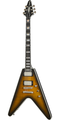 Epiphone Flying V Prophecy in Yellow Tiger Aged Gloss