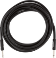 Fender Guitar Cable/Lead 15ft 4.5M Black Professional Series