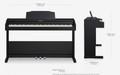 Roland RP102 Digital Piano Contemporary Black
