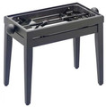 Piano stool Black Matt finish