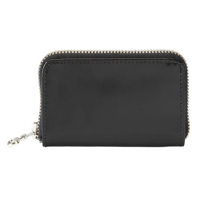 Leather Zip Wallet - Patent