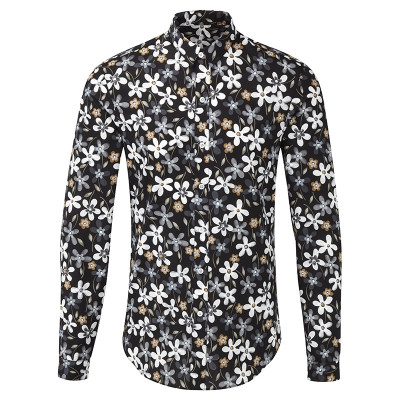 Flower Tailored Shirt