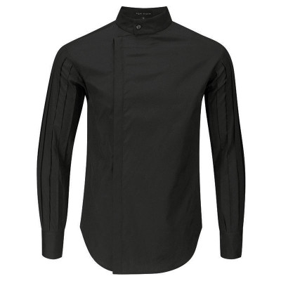 Pin Tuck Sleeve Shirt