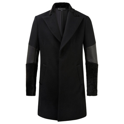 Wool Shearling Coat