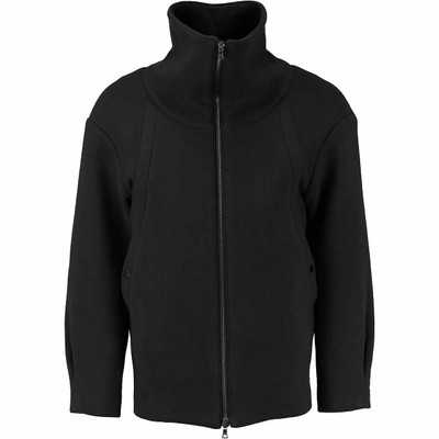 Funnel Neck Sweat Jacket