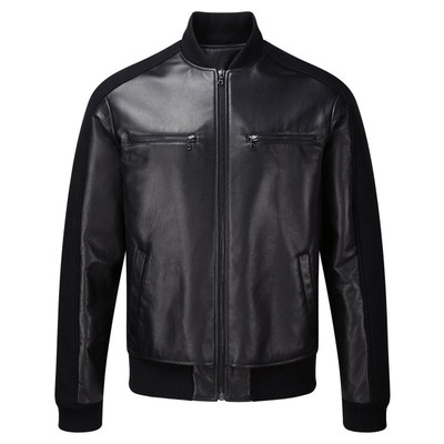 Leather Rib Jacket