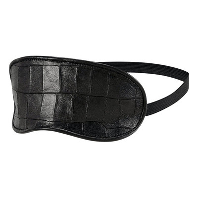 Crocco Leather Sleeping Mask