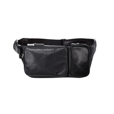 Convertible Leather Waist Bag