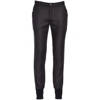 Ribbed Ankle Trouser