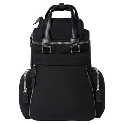 Essential, Nylon & Leather Backpack