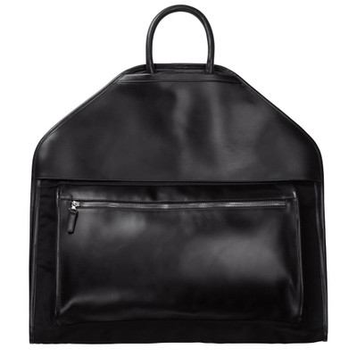 Leather + Nylon Garment Bag
