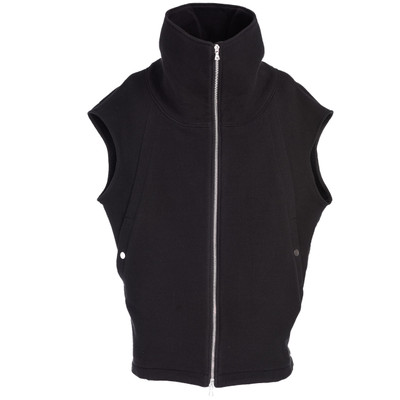 Sleeveless Funnel Neck Sweatshirt