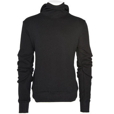 Shirred Sleeves Sweatshirt-Hoodie