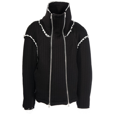 Funnel Neck  Hybrid Sweater Jacket