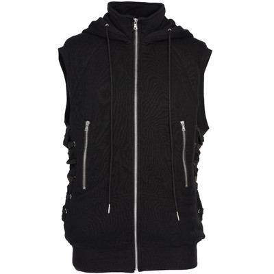 Sleeveless Sweat Hoodie
