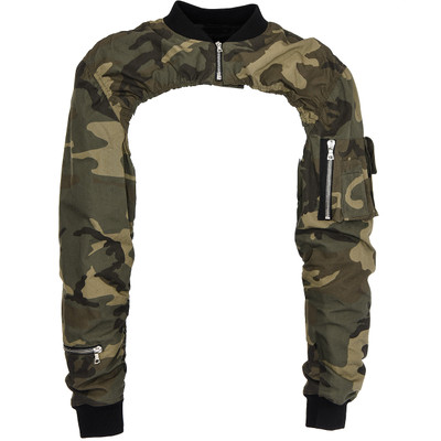 Shoulder Blade Camouflage Jacket