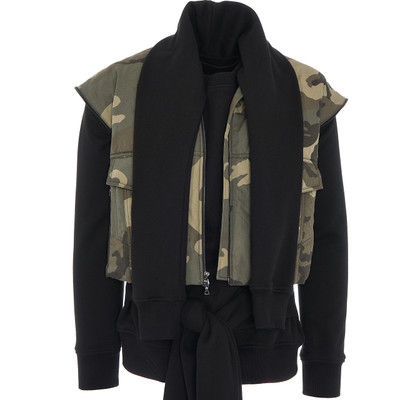 Layered Caterpillar Camouflage Vest