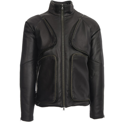 Santiago Matte Leather Jacket