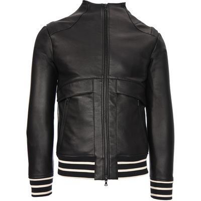 SoHo Matte Leather Jacket