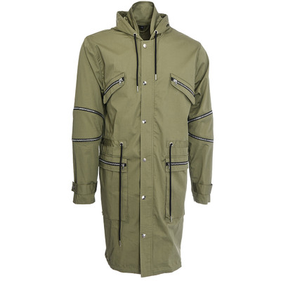 Military Trench Coat, Grn