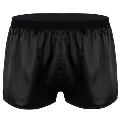 Onyx Satin Boxer Short