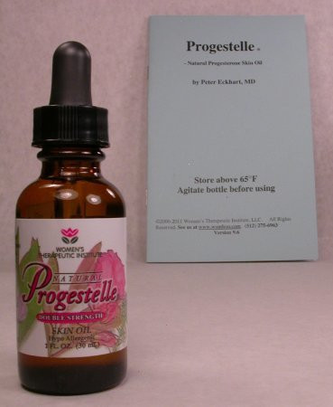 Progesterone Oil Progestelle Purer than Progesterone Cream